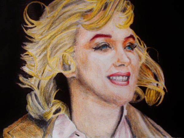 Marilyn Monroe por aprendiz33